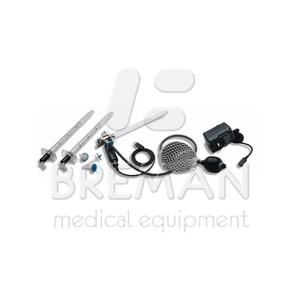 Адаптер для волоконно-оптического осветителя для использования со стандартными аноскопами