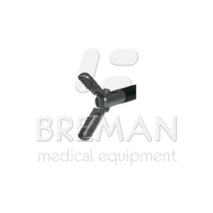 Зажим ложкообразный, диам. 5 мм, длина 460 мм