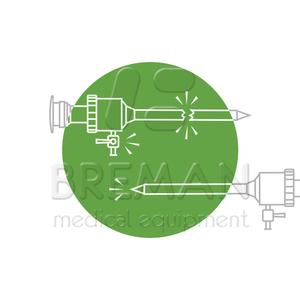 Ремонт троакаров лапароскопических, заточка стилетов троакаров