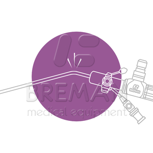 Ремонт жесткого эндоскопа, у которого погнут тубус (замятие на корпусе)