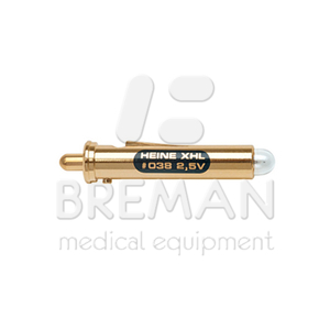 Лампа ксенон-галогеновая XHL 2,5В (дерматоскоп Delta10/офтальмоскоп Miroflex)