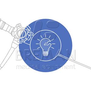 Понижена передача света: ремонт элементов освещения в гибком эндоскопе