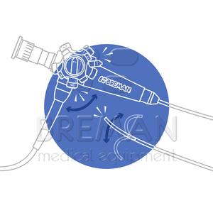 Обрыв тяги гибкого эндоскопа: ремонт / замена тяг