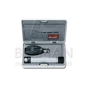 Офтальмоскоп прямой медицинский BETA 200 LED с рукояткой перезаряжаемой BETA ТR (4USB), базовый состав с принадлежностями