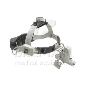Осветитель медицинский налобный ML4 LED UNPLUGGED с лупами без защитного щитка S-Guard (Kit 10с)