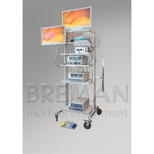 Эндовидеохирургическая стойка для лапароскопии в урологии
