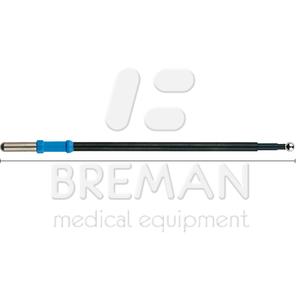 Электрод-шарик, прямой, диам. 4 мм, L=122 мм, с изолированным стержнем, коннектор 4 мм