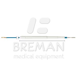 ВЧ-инструмент одноразового пользования с электродом-ножом, с активацией через ножной переключатель, коннектор 2,4 мм, кабель L=3 м, в стерильной упаковке, Уп=10 шт.
