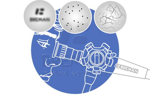 Нарушение изображения: «мраморная сетка», помутнение, «черные точки» и т.д., в гибком фиброскопе