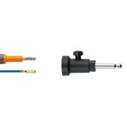 Адаптер монополярный, для эндоскопических инструментов с разъёмом для подключения 2 - 4 мм, штекер 8 мм для Bovie, L=4,5 м